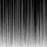 上から下に流れる不穏な効果線素材