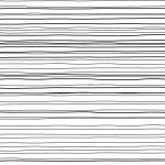 ラフな横・平行線の効果線