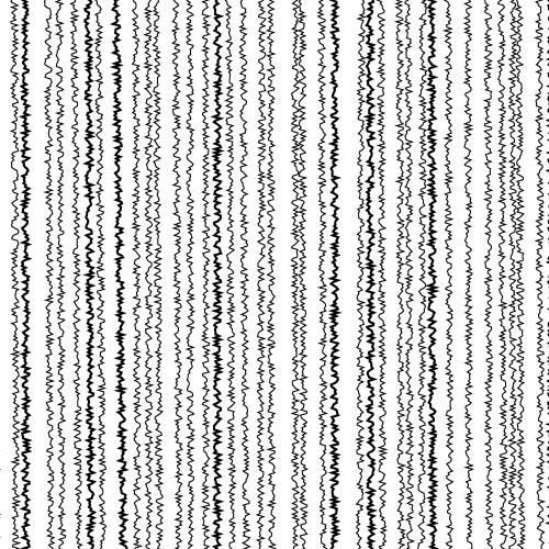 ちぢれたラインの効果線