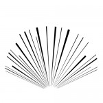 扇状の効果線・集中線素材