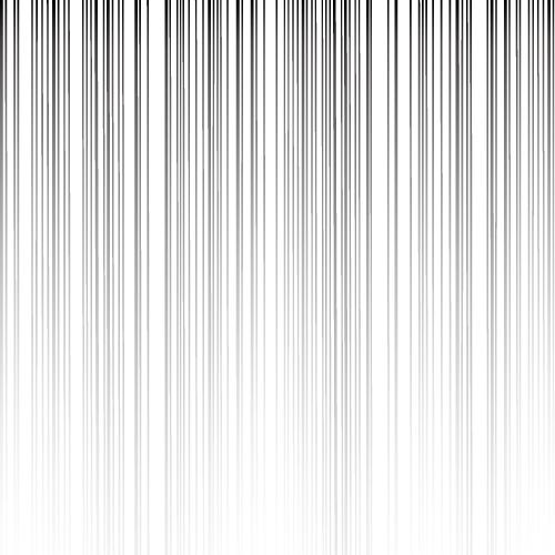 上から下にグラデーションする効果線イラスト