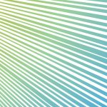 左から右上に向かう青系色の効果線イラスト
