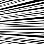 横に流れる効果線イラスト素材