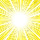 黄色い効果線・集中線